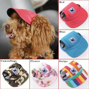 Adjustable-Fashion-Pet-Puppy-Dog-Baseball-Hat-Cap-Sunbonnet-W-Ear-Hole-1