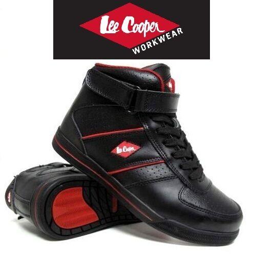 Neu Herren Lee Cooper Stahlkappen Sicherheitsstiefel Turnschuhe Workwear LC033