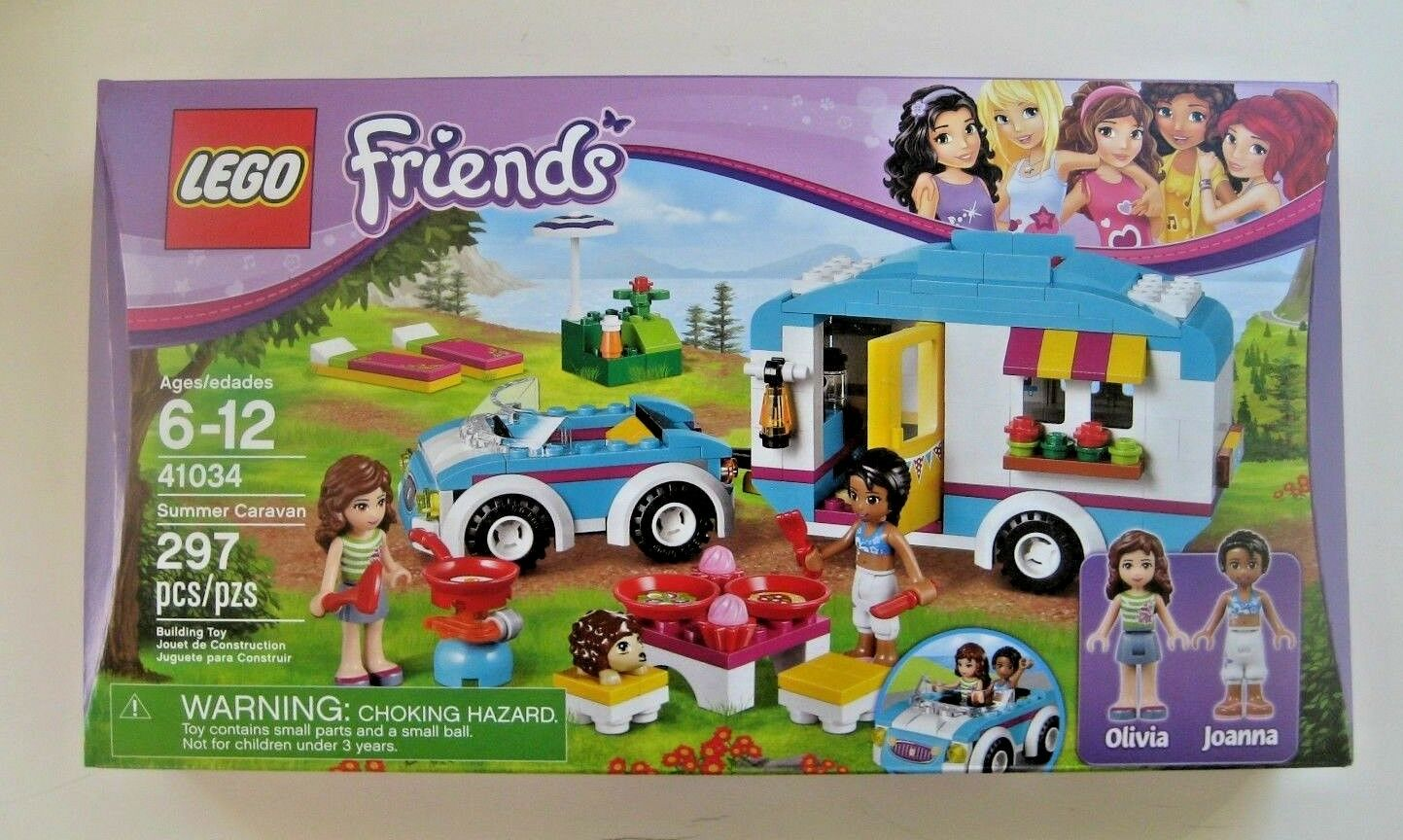 LEGO Friends Summer Summer Summer Caravan 41034 NEW ab8127