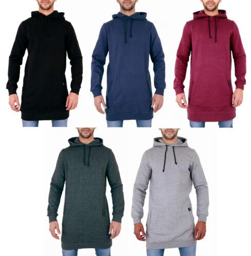 Mens Longline Plain Hoody Sweatshirt  ARRESTED DEVELOPMENT XS S M L XL 2XL 3XL