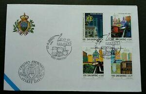 SJ-San-Marino-Bologna-European-City-Of-Culture-2000-Church-FDC