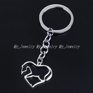 Xmas-Family-Gift-Friend-Keyring-Charm-Keychain-Cool-Movie-Symbols-Four-in-One