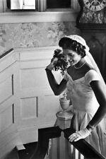 "New 5x7 Photo: Jacqueline ""Jackie"" Bouvier on her Wedding Day to John F. Kennedy"