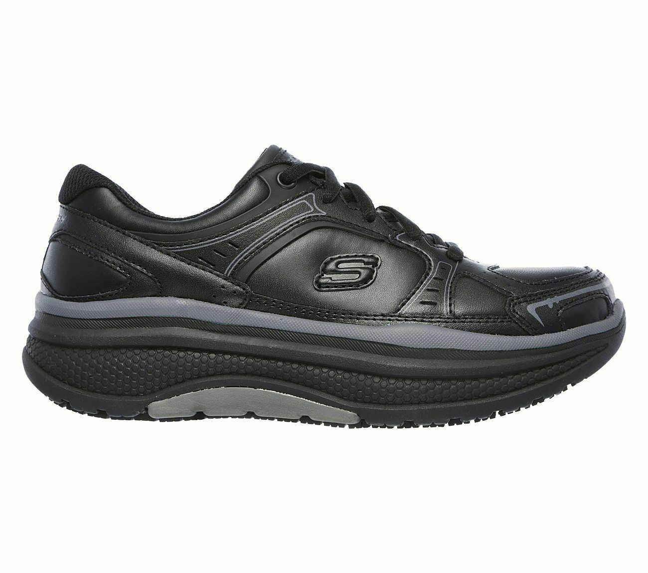 Womens Skechers Cheriton SR EH Electrical   Slip Resistant Work shoes 77218 BLK
