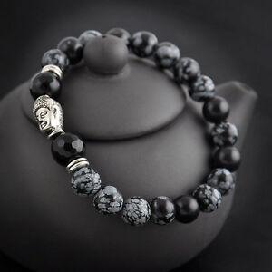 Bracelet tibetain homme argent