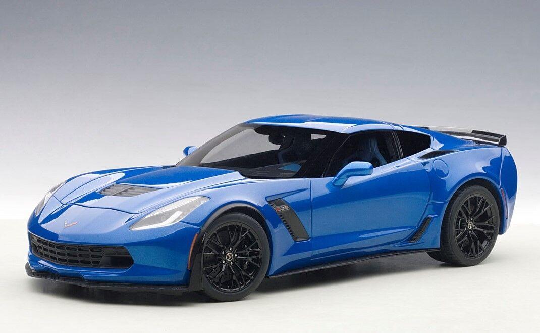 71265 Autoart 1 18 Chevrolet Corvette (C7) Z06 (bleu) Model Cars