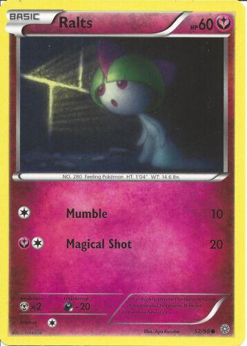 POKEMON CARD XY ANCIENT ORIGINS RALTS 52//98