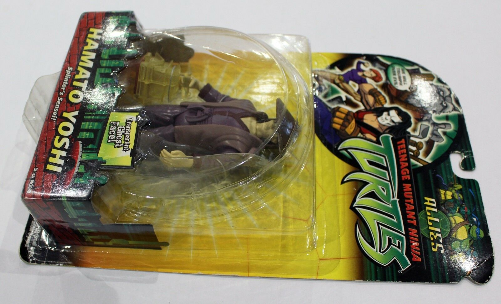 Playmates TMNT TMNT TMNT Ninja Turtles 2005 Hamato Yoshi  - New & Sealed 5dfd10