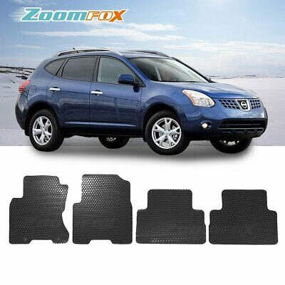 Fit 2008 2013 Nissan Rogue Black All Weather Floor Mat