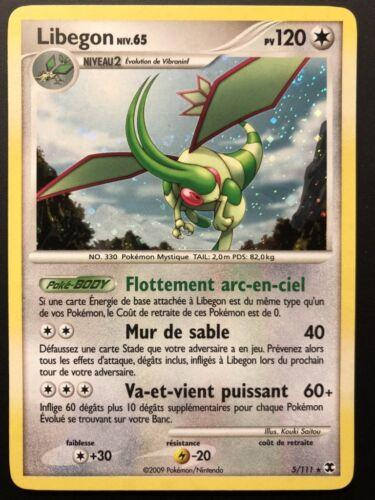 Carte Pokemon LIBEGON 5//111 Holo Platine RIVEAUX EMERGEANTS FR NEUF