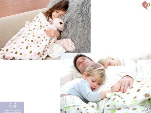 ADEN+ANAIS CLASSIC DREAM BLANKET COTTON MUSLIN BREATHABLE SOFT FABRIC BAMBOO x1