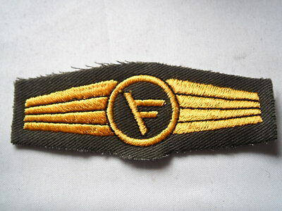 oliv // silber Abz Bundesmarine // Marine für Führungsdienstpersonal