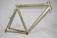Eddy Merckx Rahmen Cross 5 Roh, Cyclocross Frame, Querfeldein,  Alu RAW, RH54cm