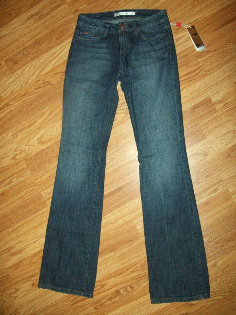 JOE'S JEANS GiGi Wash HONEY BOOTY Fit Bootcut JEANS womens Size 24 Long TALL NEW