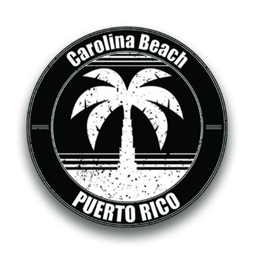Carolina Beach Puerto Rico Vinyl Decal Sticker Vacation Explore Memory Souvenir