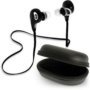 bluetooth 4 1 stereo wireless in ear earphones headset call mic iphone samsung ebay. Black Bedroom Furniture Sets. Home Design Ideas