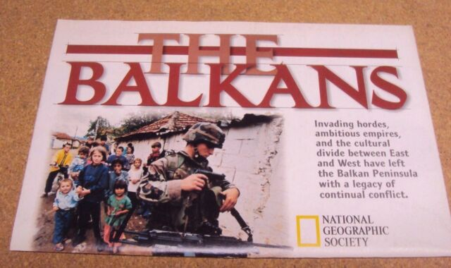 The Balkans Map Plight Of The Refugees National Geographic February