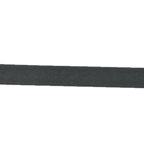 Kavalkade Biothane Zügel schwarz ohne Stege 16 mm 1,40 m oder 1,60 m H/&H