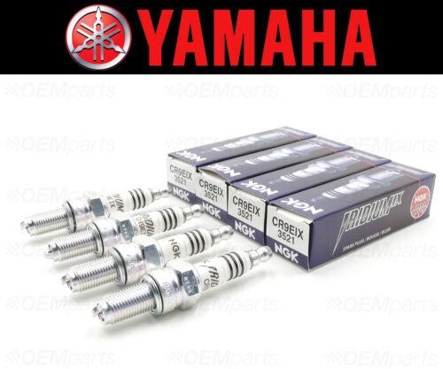 4 #CR9-EIX00-00-00 Set of See Fitment Chart NGK CR9EIX Spark Plugs Yamaha