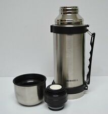 Item 1 Vacuum Stainless Steel Insulated Coffee Soup Bottle Thermos Liter Large