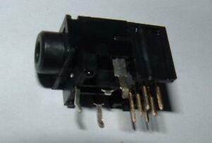 10 X 3.5 mm Estéreo Jack Socket PCB 0.5 A