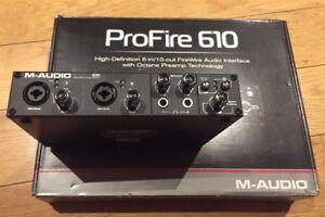 M-Audio-Profire-610-Firewire-Audio-Interface-Boxed