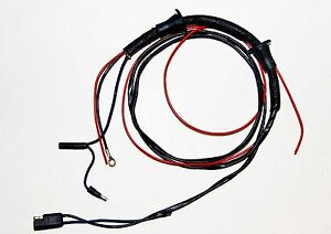 1964 ford wire harness 1964-1966 ford mustang door courtesy light wire harness | ebay #11
