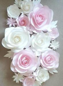 Details About Pa Ula Paper Flower Wall Art Nursery Decoration Bedroom Master Piece