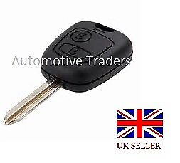 NEW KEY FOB CASE 2 BUTTON WITH BLADE FOR CITROEN BERLINGO PICASSO SAXO XSARA A67