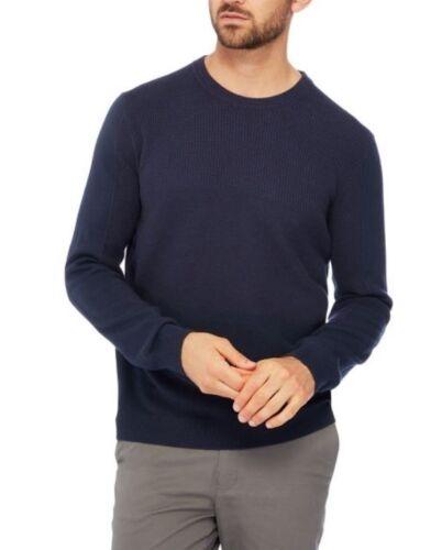 Textured Mens Medium Block Cotton Racing Knit Green New Navy Jumper tqTTaC