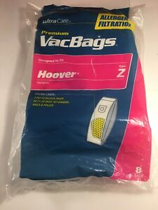 Ultra-Care-Vacuum-Bags-8-Bags-fits-Hoover-uprights-Z-Allergen