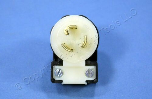Leviton L7-15 Angled Twist Locking Plug Turn Lock NEMA L7-15P 15A 277V 4770-CA