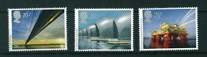 GB-QE-II-1983-Europa-Engineering-full-set-of-stamps-Mint-Sg-1215-1217