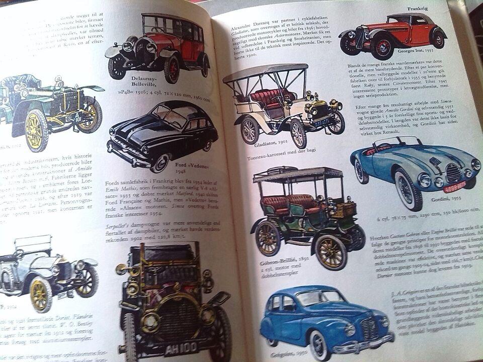 Berømte Biler, J.D.Scheel, emne: bil og motor