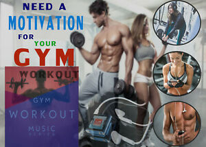 Details About Gym Workout Motivation Music Track Mix Google Drive Delivery