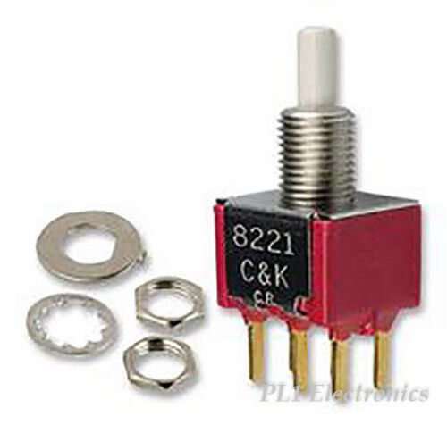 C /& K COMPONENTS   7201SYCQE   SWITCH TOGGLE DPDT 5A 120V