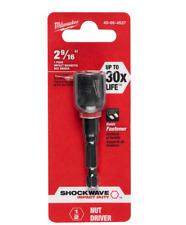 Shockwave 12 In X 2 916 In Steel Magnetic Nut Driver