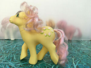 My-Little-Pony-G1-Posey-Pink-Hair-Vintage-Toy-Hasbro-1984-Collectibles-MLP-A