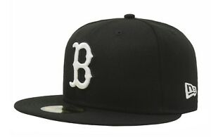 74e3c9eed421a NEW ERA 59Fifty Fitted MLB Baseball Hat Boston Red Sox Black Men ...