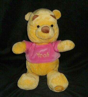 """13 """" Disney Store Snuggies Winnie The Pooh Bambino Peluche Peluche Lovey Carattere Aromatico E Gusto Gradevole"""