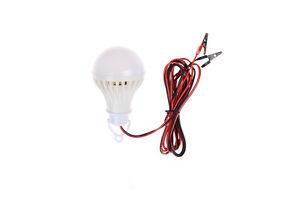 12V-5W-LED-bulb-camping-solar-hunting-emergency-portable-clip-lamp-Light-D-EW-YK