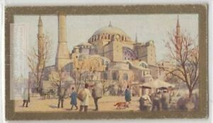 Mosque-Of-St-Sophia-Constantinople-Istanbul-Turkey-90-Y-O-Ad-Trade-Card
