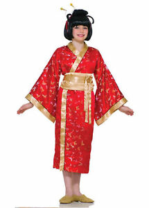 Madame Butterfly Japanese Geisha Asian Kimono Dress Up