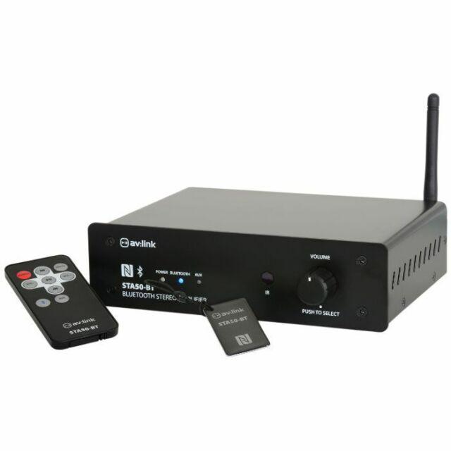 AV Link STA50BT Digital Stereo Amplifier With Bluetooth