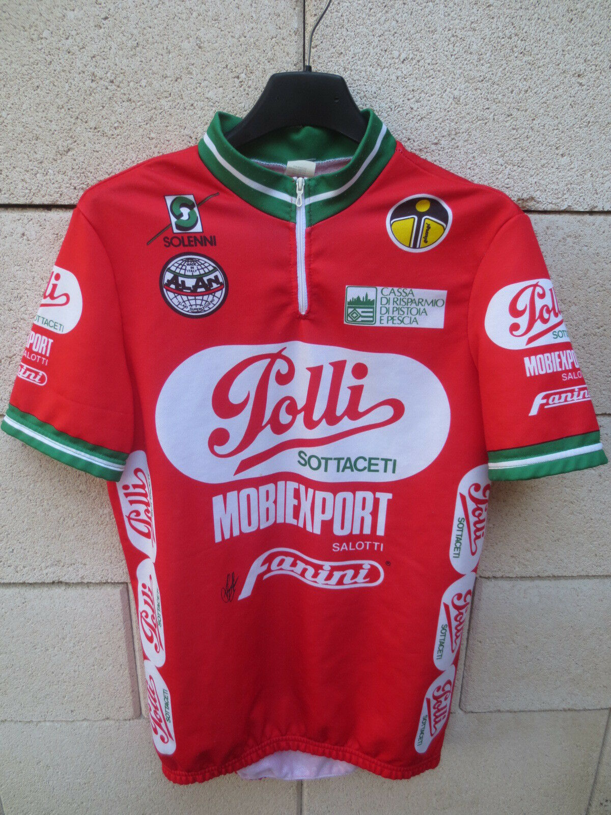 Maillot cyclist polli mobiexport 1989 vintage t shirt cycling leotard  4  comfortable