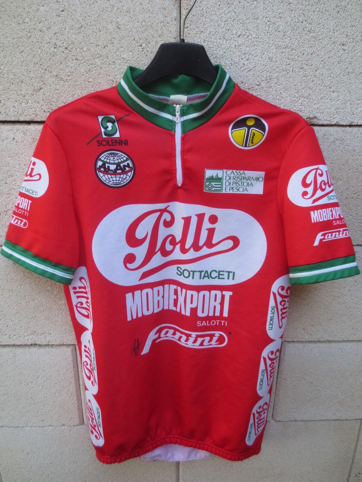 Maillot cycliste POLLI MOBIEXPORT 1989 vintage camiseta  shirt cycling trikot 4