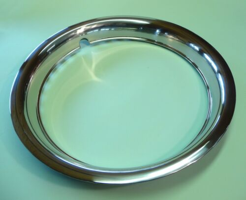 14 pollici UNIVERSALE radzierringe 4 pezzi in acciaio inox per cerchi acciaio 070-8343