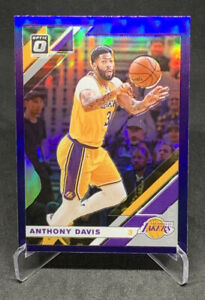 Anthony-Davis-2019-20-Panini-Optic-Purple-Prizm-Lakers