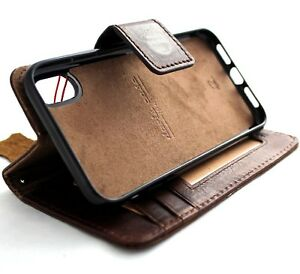 genuine-leather-Case-for-iphone-XR-wallet-rubber-cover-detachable-soft-holder-ID