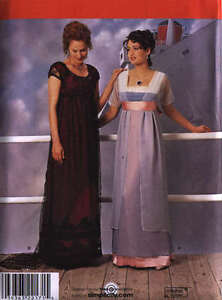 Titanic Era dress pattern Simplicity 8399 ROSE'S Costume GOWN NEW 10-14 NEW